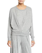 Joie Yerrick Draped Sweatshirt