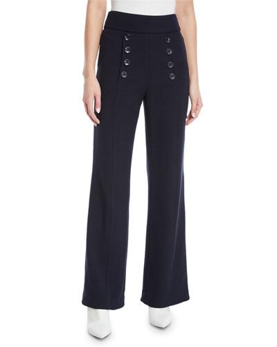 Ardina Sailor-Button Pants