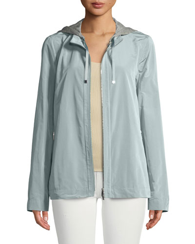 Ventura Empirical Tech-Cloth Jacket w/ Zip-Out Hoodie