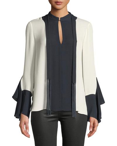 6facb33e72595c Womens Silk Blouse