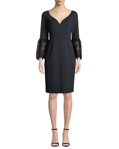 d2884b3f7b0f Elie Tahari Sheath Dress | Neiman Marcus