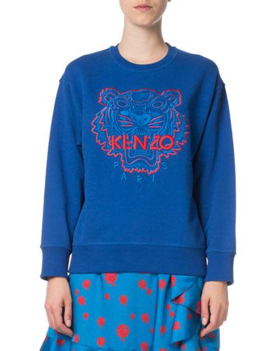 Bicolor Tiger Comfort Sweatshirt