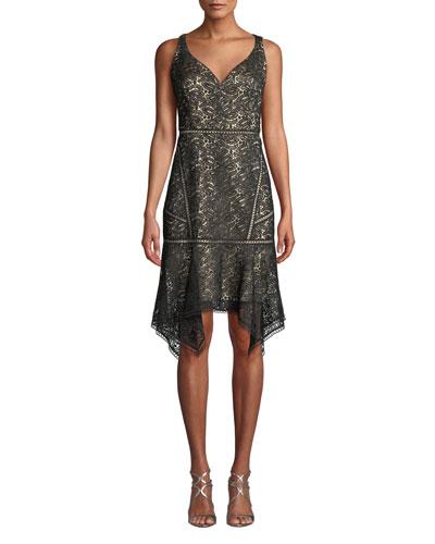 Mariya Sleeveless Lace Dress