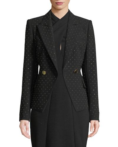 Nicole Studded Blazer Jacket