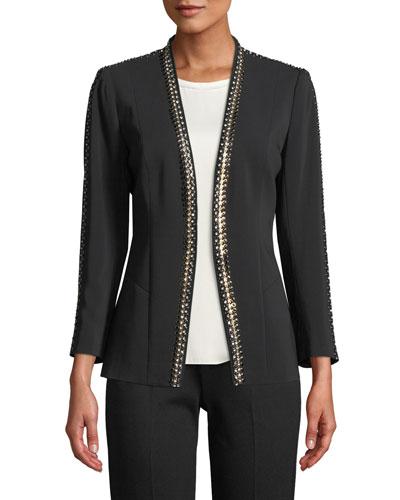 Ken Studded Blazer Jacket