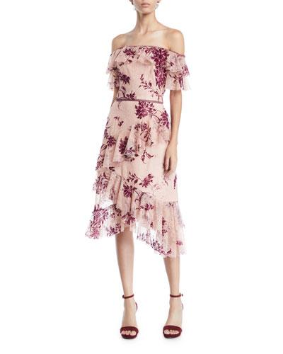 0760b8fef6 Off-the-shoulder Dress