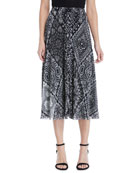 Fuzzi Stampa Crochet Patch Full Skirt