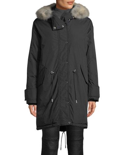Chantrey Down Parka Jacket w/ Detachable Fur