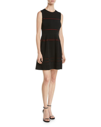 5e49c98d0c1f Quick Look. Diane von Furstenberg · Celina Sleeveless Lace-Trim Short Dress
