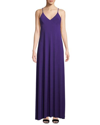Slip A Line Long Jersey Dress