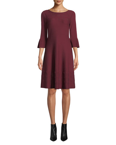 Plus Size Illusion Twirl Dress