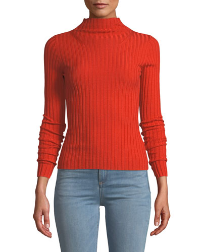 dff523110d3dd Quick Look. A.L.C. · Lamont Fitted Wool Turtleneck Sweater