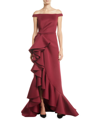 50ed115e69f Red Evening Gown