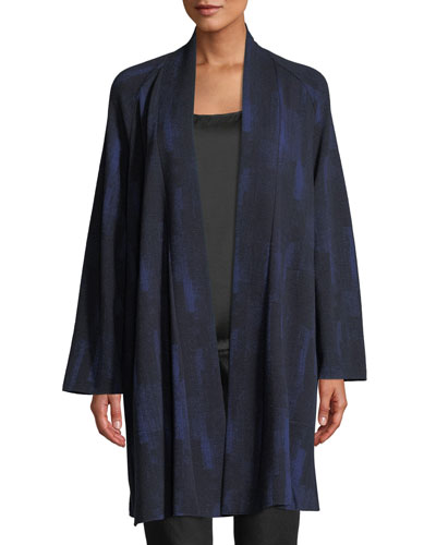 Plus Size Reflections Jacquard Jacket