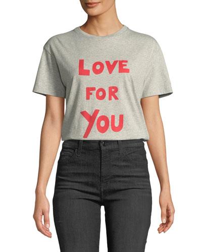 Love For You Crewneck Tee