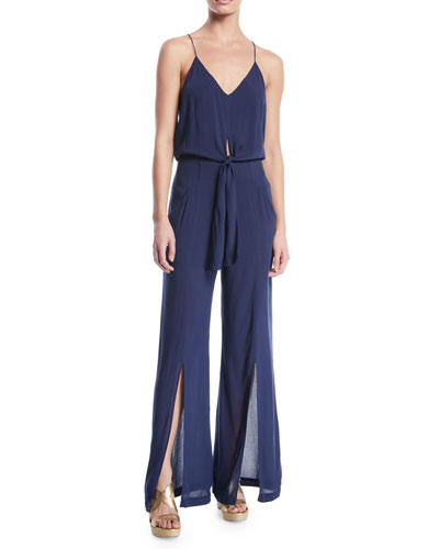 a93d7ccd9eb Quick Look. Vix · Nora Sleeveless Split-Leg Sleeveless Jumpsuit