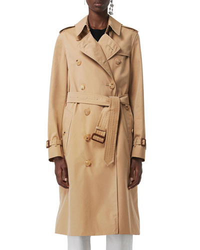 Kensington Heritage Belted Long Trench Coat