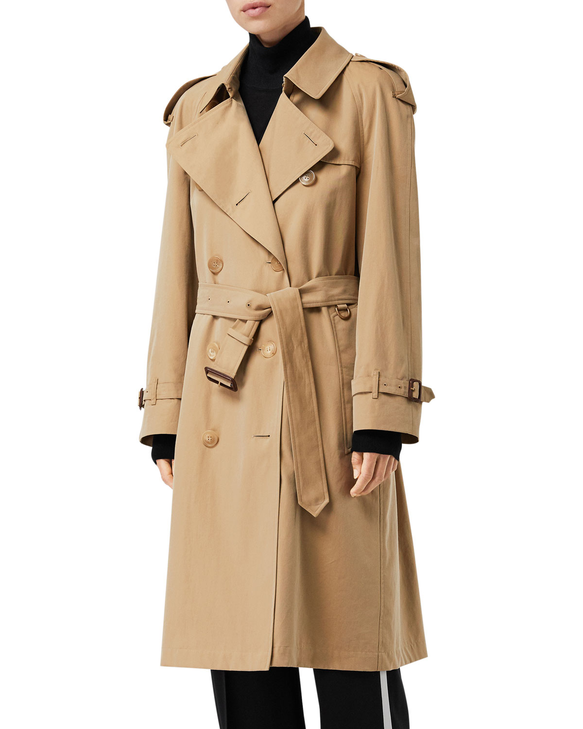 Westminster Long Belted Trench Coat