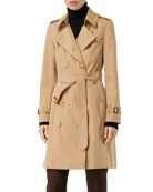 Burberry Chelsea Heritage Slim-Fit Trench Coat