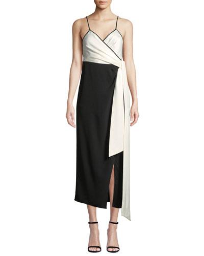 Quick Look. Diane von Furstenberg · Avila Colorblock V-Neck Wrap Dress a310197c4