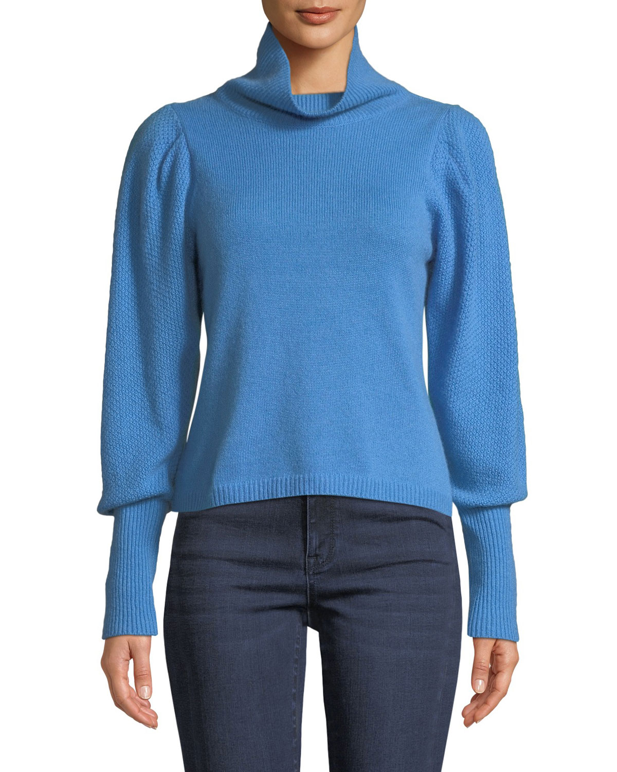 Diane Von Furstenberg Sweaters BEATRICE WOOL-CASHMERE TURTLENECK SWEATER