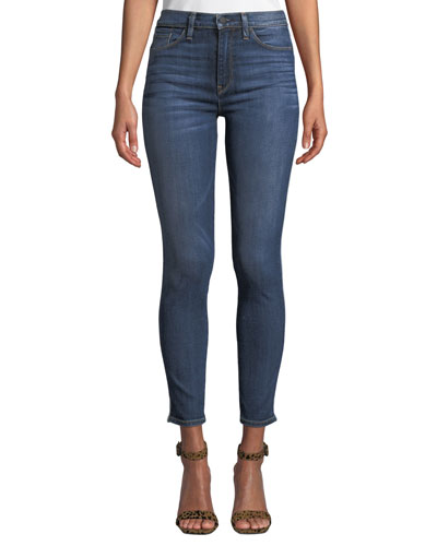 Barbara High-Waist Ankle Skinny Jeans