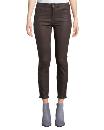 The Ankle Coated Skinny Jeans