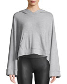 Cupcakes and Cashmere Canby Cropped Long-Sleeve Hoodie