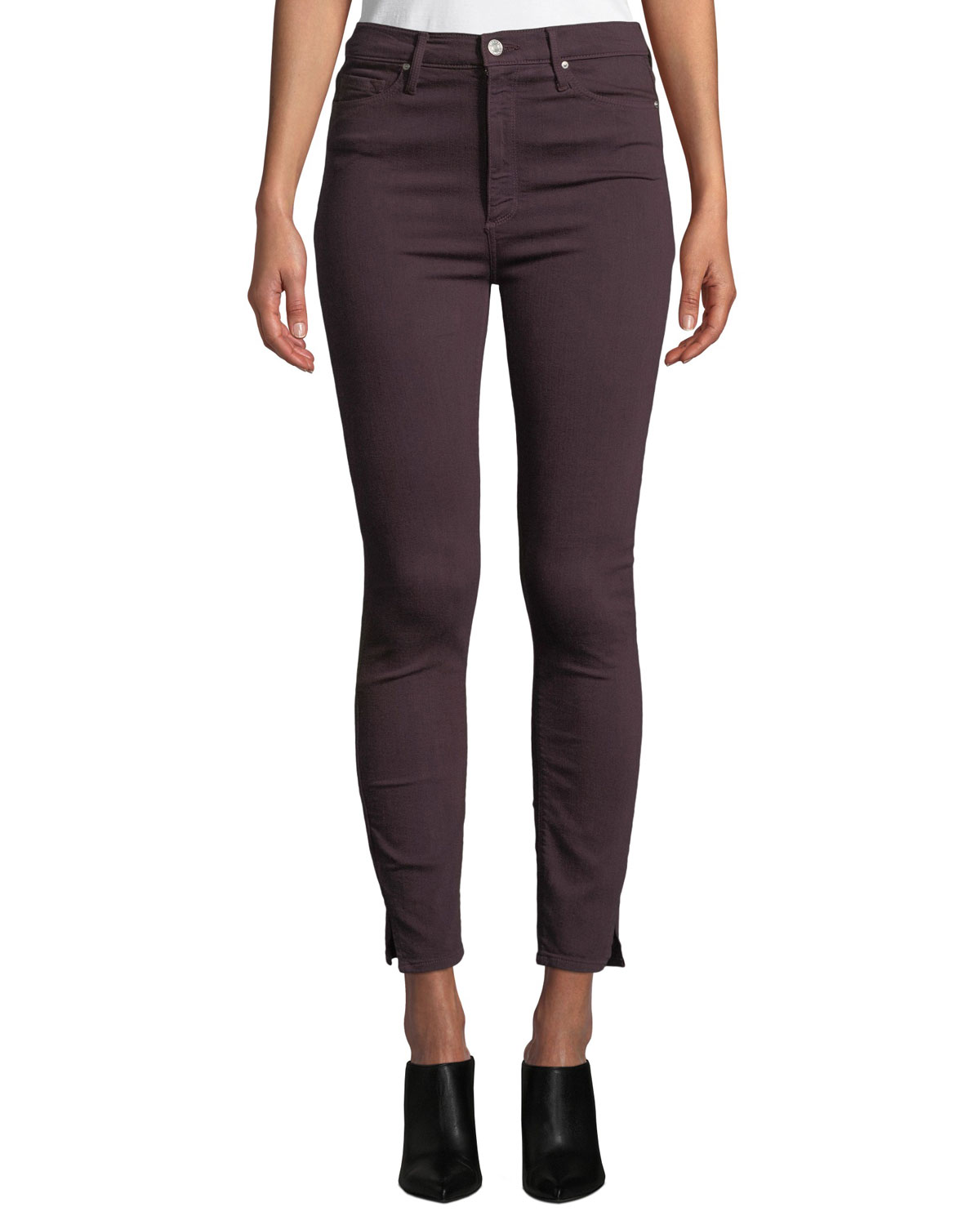 """Kate 11"""" Super High Rise Skinny Jeans in Night Shade"""