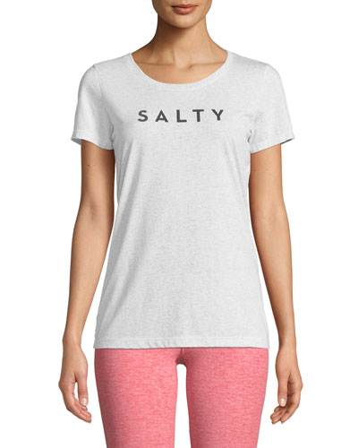Salty Slogan Beach T-Shirt