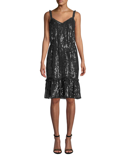 bb060cf9e1 Quick Look. Needle   Thread · Gloss Sequin Cami Dress
