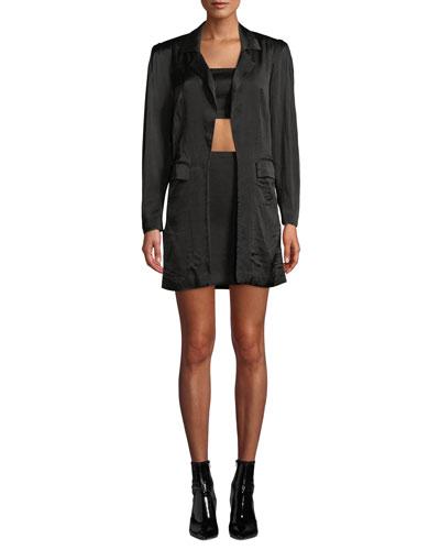 The Axel 3-Piece Crop Top, Skirt & Jacket Set