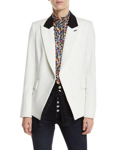 Fergus Single-Button Dickey Jacket
