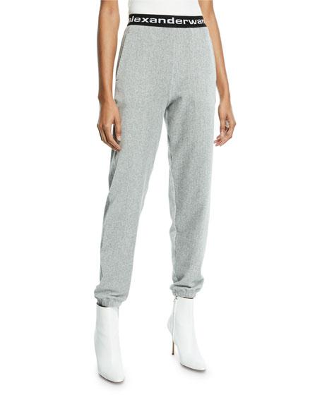 alexanderwang.t Stretch Corduroy Logo-Bend Pants