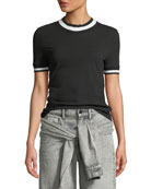 alexanderwang.t High Twist Jersey Short Slee and Matching