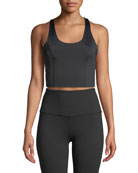 Beyond Yoga Down The Line Compression Cropped Tank
