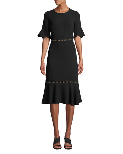 Oleh Grommet & Scalloped Dress