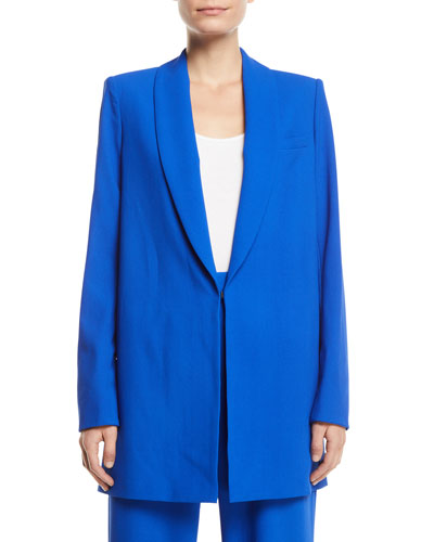 Jace Shawl-Collar Oversized Blazer