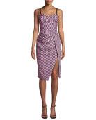 Milly Alice Sleeveless Striped Shirting Dress