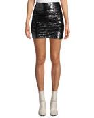Iro Dreaming Sequined Mini Skirt