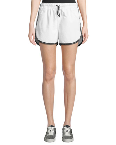Logo-Trim Track Shorts