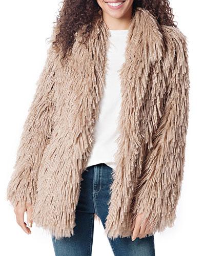 Alpaca Faux Fur Jacket