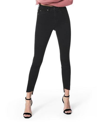The Hi (Rise) Honey Step-Hem Skinny Jeans