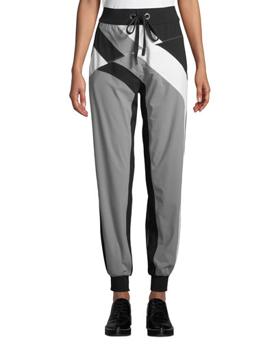 Pana Colorblock Drawstring Jogger Pants