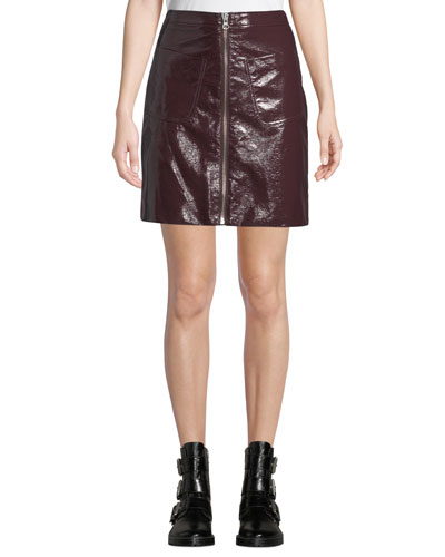 bfd3686c4 Front Zip Skirt | Neiman Marcus