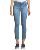J Brand Alana High-Rise Crop Skinny Jeans with