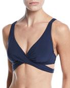 JETS by Jessika Allen Jetset Cross-Front Underwire Bikini