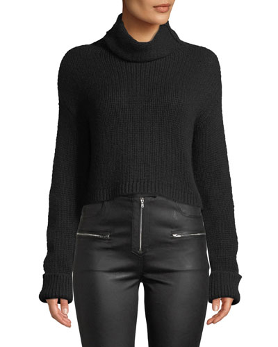 20f5d561c8 Quick Look. Sablyn · Shay Cropped Cashmere Turtleneck Sweater