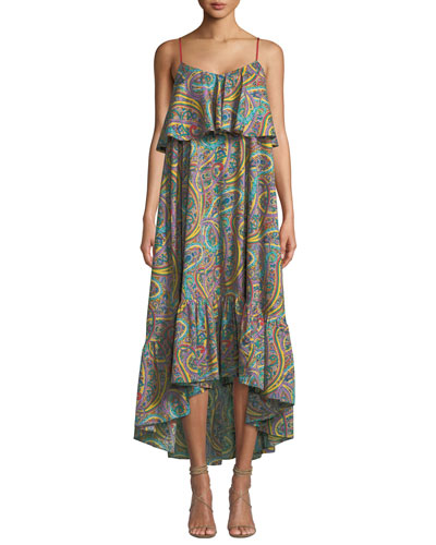 e56526b0643 Tiered Hem Cotton Dress