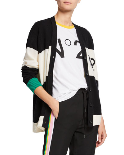 9777da31993 Quick Look. No. 21 · Striped Button-Front Cardigan. Available in Black